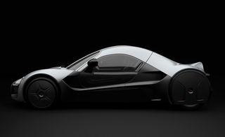Полноприводный автомобиль Venturi Volage с колеcами-моторами Michelin Active Wheel