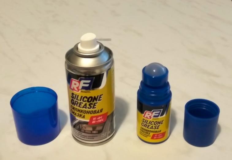 Тест силиконовой смазки Ruseff